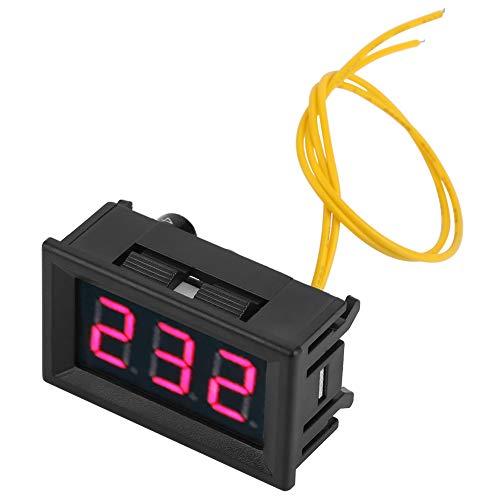 LED Anzeige Digital Voltmeter Voltage Meter 70-380V AC Amperemeter 0,36 Voltage Panel Gauge -