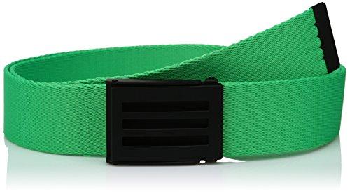 adidas Golf Herren Gürtel Webbing Belt, Herren, Solar Lime S16 (Taylormade Golf-gürtel)
