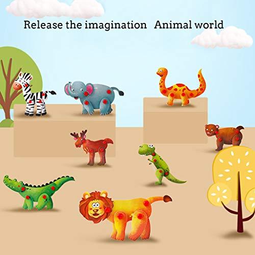 Mitlfuny Auto-Modell Plüsch Bildung Squishy Spielzeug aufblasbares Spielzeug im Freien Spielzeug,Tiere Schraube Spielzeug Kinder Bohrer Set Lernspielzeug BAU Tool Kit