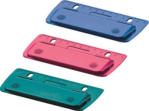 Herlitz 50015832 Mini-Taschenlocher zum Einheften und für unterwegs, Keine Auswahl möglich! farbig sortiert