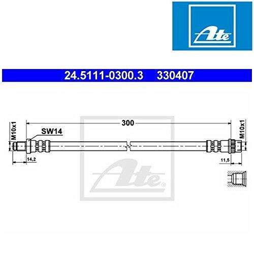 Preisvergleich Produktbild ATE 24511103003 Bremsschlauch