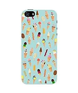 PosterGuy iPhone 5 / 5S Case Cover - Ice-cream Cone Pattern Graphic Art