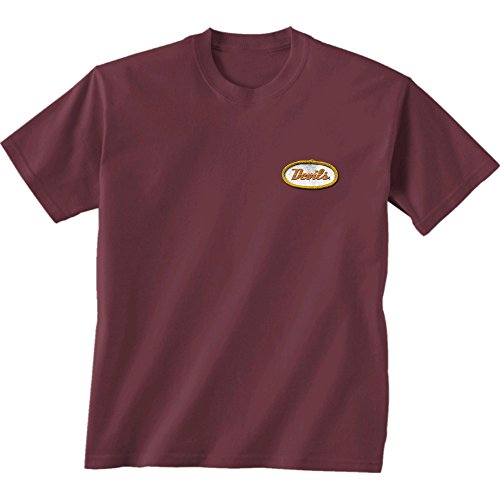 New World Grafiken Arizona State NCAA Mechaniker Short Sleeve, Unisex, Arizona State Mechanic, kastanienbraun