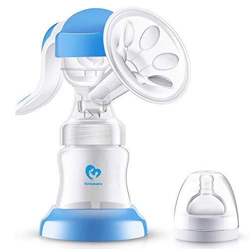 Pink Nircooe Elektrische Milchpumpe Brustpumpe Einzel Muttermilch Abpumpen inkl Schnuller aus Silikon mit Massage /& Absaugung