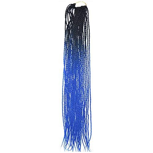 kashyk Damen Perücken,2 Farbe lang Weben Haar,Mode Natur Hitzeresistente Kunsthaar,Haarersatz Cosplay Perücke, Ostern Perücke,Anime Mädchenperücke