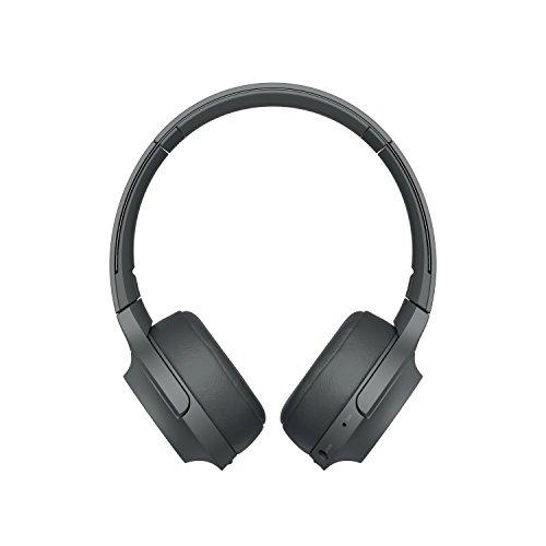 Foto Sony WHH800 Cuffie Over-Hear Stereo, Bluetooth, Hi-Res Audio, con Microfono...