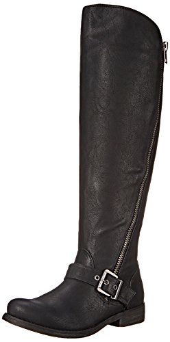 Carlos by Carlos Santana Gramercy Wide Calf Large Synthétique Botte Black