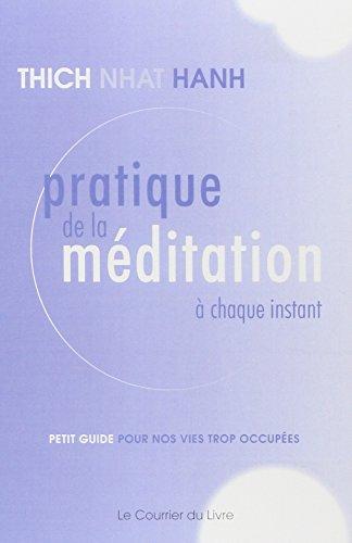 Pratique de la méditation à chaque instant : Petit guide pour nos vies trop occupées