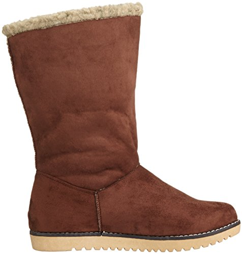 Refresh Damen 63076 Schlupfstiefel Braun (Marron)