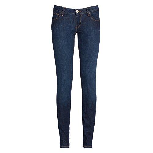 Guess Damen Hose Ultra Low Blu (Filled Sexy Embellis)