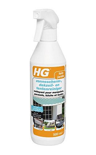 HG Reinigungsmittel für Markisen/Sonnenschirme / Planen und Zelte, 500ml, 2Stück
