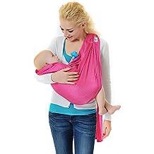 Xcellent Global Fular Portabebés Portador de Bebé Todo Natural Portador de Bebé - Talla Única Baby Wrap Fular Portabebés Baby Carrier Newborns to 44lbs/20kg S-HG121P