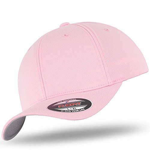 Flexfit-BB-Pink-S/M - Rosa Baseball Cap