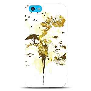 Diabloskinz D0103/00050001Printed Dual case for the iPhone 5°C–Africa