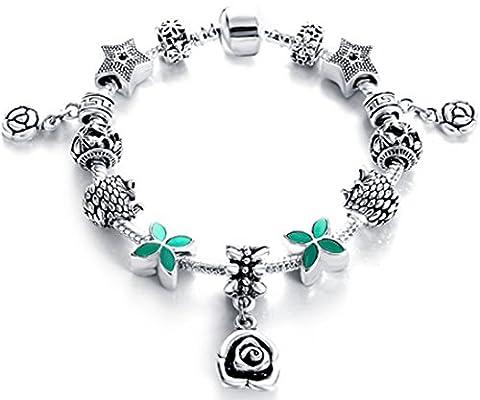 SaySure - Silver Antique Fine Bracelets & Bangles for Women