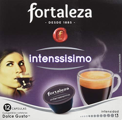 Café FORTALEZA - Cápsulas de Café Intenssisimo Compatibles con Dolc