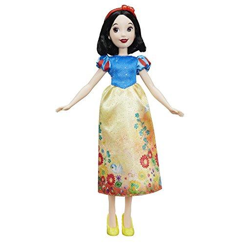 Hasbro E0275ES2 - Disney Prinzessin Schimmerglanz Schneewittchen, Puppe (Offizielle Disney Figur Kostüm)