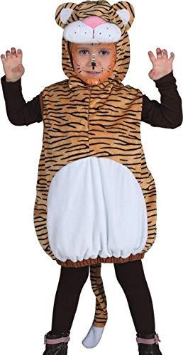 chen Tiger Tier Zoo Wild Dschungel Afrika Buch Wochenbuch Tag Karneval Kostüm Outfit ()