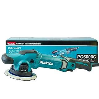 Makita Auto Poliermaschine PO6000C umschaltbar Exzenter/Dual Action Polierer mit 150mm Polierteller