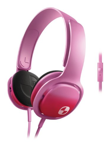 Philips SHO3305FIN/00 O'Neill Cruz On-Ear Headband Headphone with Mic (Pink)  available at amazon for Rs.1475