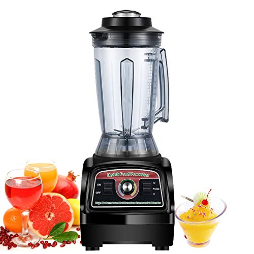 IDABAY Licuadora Multifuncional, Batidora de Vaso para Frutas y Verduras, Trituradora de Hielo, Gran Capacidad 3.9L, 57000Rpm, 2800W