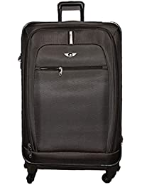20db3551d5 Polo House USA Exclusive Nylon Made, 917 Cm Black Soft Shell Suitcases(New)