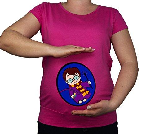 Colour Fashion Damen T-Shirt Gr. L, Rose