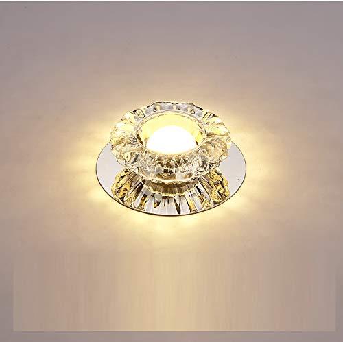 Foco empotrable de cristal LED Foco empotrable de techo con apertura de...