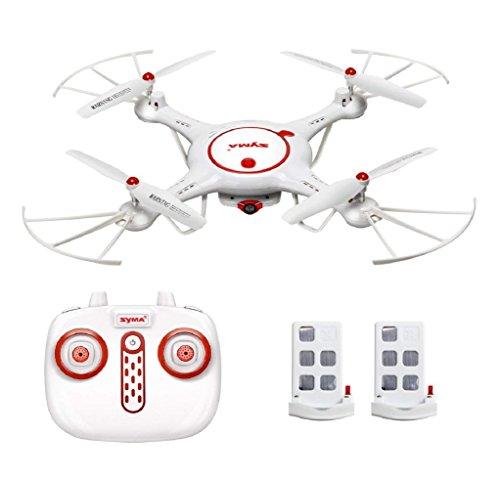 Spatial element syma x5uc rc quadcopter drone 2.4g 4ch giroscopio a 6 assi con videocamera hd da 2 mp con elicottero di ritorno a un pulsante