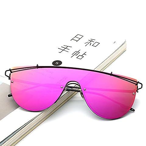 Sonnenbrillen Herren Sonnenbrillen Mode Retro-Einteilige Fengjing , 3