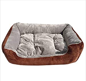 GZDXHN Dog House Court Peluche Doux Et Confortable Chenil Nid De Chat Four Seasons Universel Coussin Nid d'animal