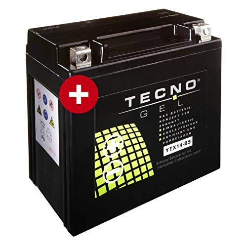 Tecno YTX14-BS Gel Batterie R 1200 GS LC ABS 2014-2016