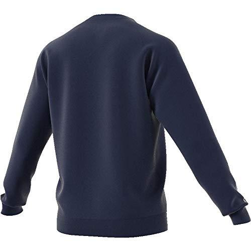 adidas Herren CORE18 Sweatshirt Dark Blue/White 3XL