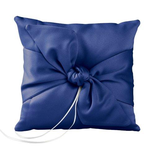Ivy Lane Design Love Knoten Strumpfband Set, Schokolade Ring-Kissen königsblau
