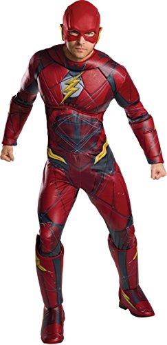 League Justice Kostüm - Offizielles Superman-Kostüm für Erwachsene von Rubie's, DC Warner Bros Justice League Superman-Kostüm
