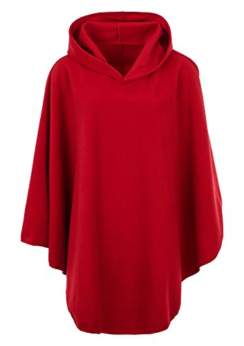 KK Fashion Lines - Poncho - Cape - Femme red