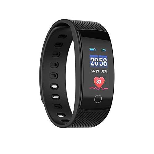 Elospy Fitness Tracker, Fitness Armband mit Herzfrequenzmessung, Wasserdicht IP67, Sport Aktivitätstracker Smartwatch Mood Tracker, Message Reminder Kompatibel, Anruf für iOS, Android Handy