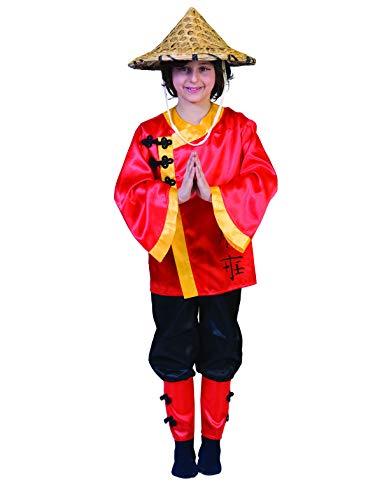 Funny Fashion Karneval Klamotten' Kostüm Chinese Junge Mädchen Karneval Asien Kinderkostüm Größe 140