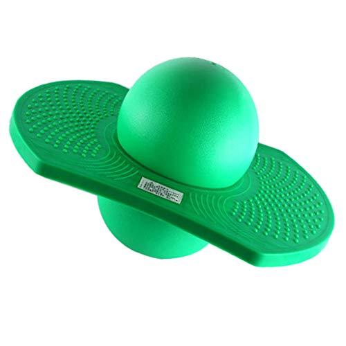 D DOLITY Outdoor Hüpfball Gleichgewicht Ball Sport Fitness Spielzeug - Grün