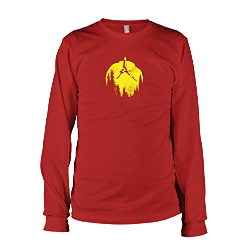 Texlab - SW: Endor Flight - Langarm T-Shirt, Herren, Größe XXL, ()