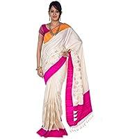 Rajarams Festive Wear White Coloured Zari Buttas