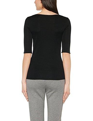 Marc Cain Essentials Damen T-Shirt +E4869J14 Schwarz (Black 900)