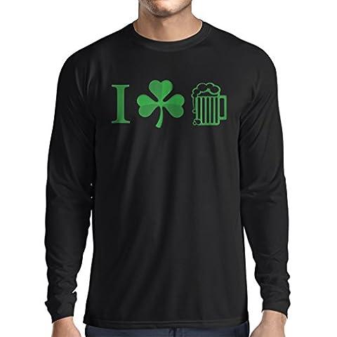 T-Shirt mit langen Ärmeln The Symbols of St. Patrick's Day