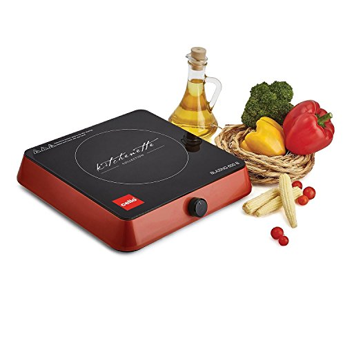 Cello Appliances Blazing 600 Induction Cooker (Red)