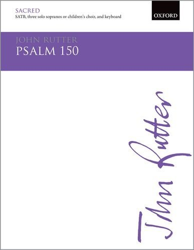 Psalm 150: Vocal score