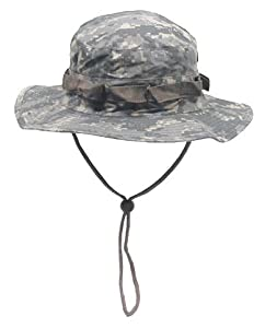Boonie Hat Chapeau Brousse Jungle US Army Commando Trooper - Coloris AT Digital Camouflage - Taille Large- Airsoft - Paintball - Chasse - Pêche - Randonnée - Outdoor