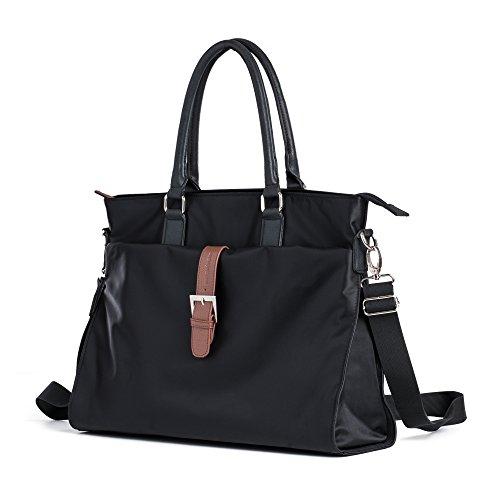 Damen Tasche aus Nylon, Umhängetasche für 13-inch Laptop - Damen-schulter-laptop-tasche