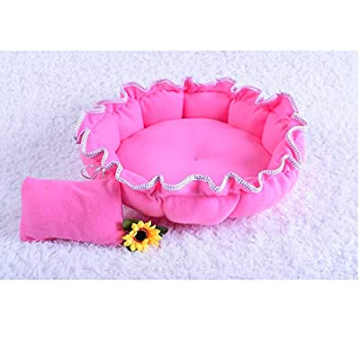 OHGQY Flower-shaped Pet Nest Can Be Machine-washed Four Seasons Pet Mat - A Nest Pet nest from OHGQY