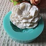 1PC 3D Mini Peony Fondant Stampo per torta al cioccolato Stampi per cioccolato + ing