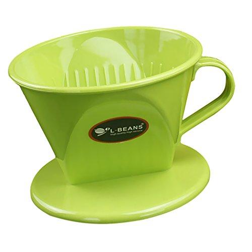 non-brand MagiDeal Wiederverwendbar Kaffeefilter für Kaffeebereiter, Kaffeedauerfilter - Grün,...
